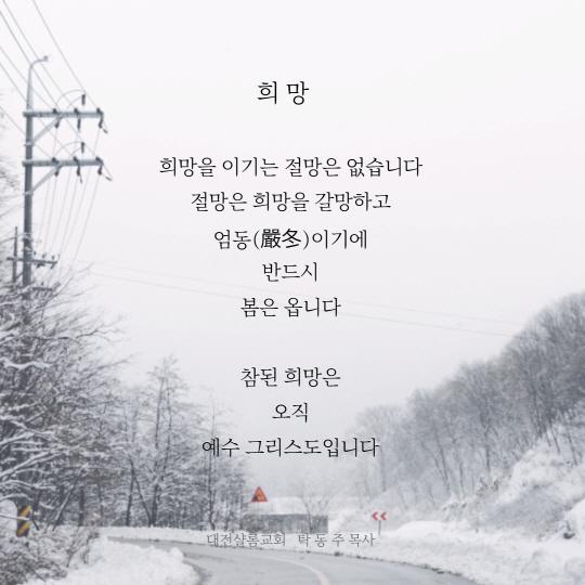 대전샬롬교회 / 풍경이 있는 글